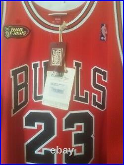 Michael Jordan Mitchell And Ness Authentic 1997-98 NBA Finals Jersey size 52 2XL