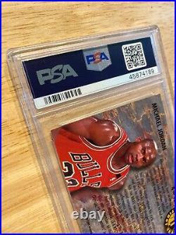Michael Jordan PSA 6 Fleer Ultra #4 SLABBED NR INVEST Last Dance All NBA 1992 NR