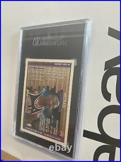 Michael Jordan SGC 9 MINTY MINT Topps Sticky Fingers LAST DANCE MJ Card 1996