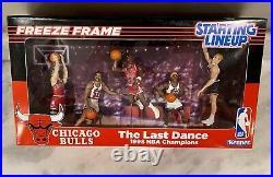 Michael Jordan Starting Lineup Chicago Bulls TEAM RARE 1/1 Custom Last Dance