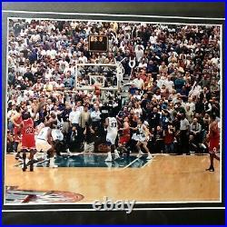 Michael Jordan The Last Shot Framed Photograph 14 x 18 Last Dance Final Shot