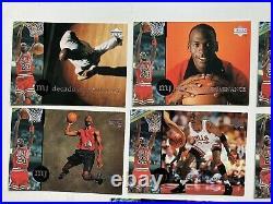 Michael jordan trading cards MJ24 The Last Dance Upper Deck. J1-J10 Komplett