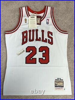 NWT! Mitchell & Ness 1995-96 Finals Michael Jordan Bulls Home Jersey 44 LARGE