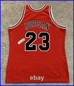 NWT! Mitchell & Ness 1995-96 Finals Michael Jordan Bulls Road Jersey sz48 XL