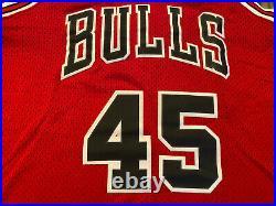 NWT New NIKE 8403 Chicago Bulls #45 MICHAEL JORDAN Jersey Medium 40 M Last Dance