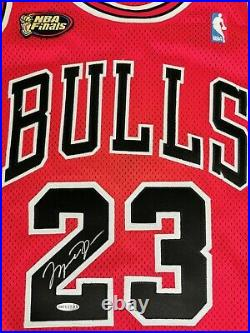 Nike 1997-98 Red Chicago Bulls Michael Jordan Game Jersey 48+4 Last Dance UDA