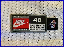 Nike Authentic MICHAEL JORDAN #23 Chicago Bulls White Jersey 48 XL Last Dance