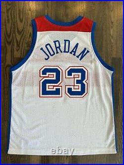 Nike Authentic MICHAEL JORDAN #23 Washington Bullets Jersey 48 XL Last Dance