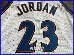 Nike Authentic MICHAEL JORDAN #23 Washington Wizards Jersey 48 XL Last Dance