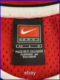 Nike Authentic MICHAEL JORDAN #45 Chicago Bulls Jersey 44 Large L Last Dance