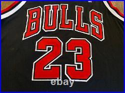 RARE Nike Fit Authentic MICHAEL JORDAN #23 Chicago Bulls Jersey 48 XL Last Dance