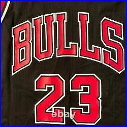 Rare Edition Michael Jordan Champion NBA Bulls Jersey Mens Sz 44 The Last Dance
