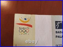 Ticket 1/4 Final USA vs PUERTO RICO Olympic Games 92 Basketball Michael Jordan