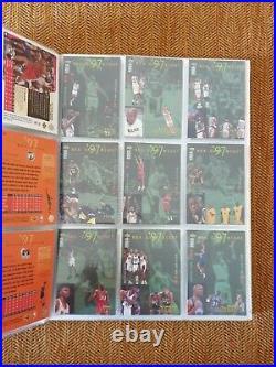 Upper Deck Album 1997-98 Completo Nba Basketball Cards THE LAST DANCE MJ
