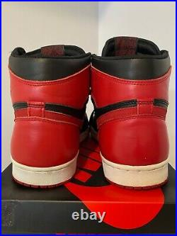 VTG RARE 1994 Nike Air Jordan 1 Bred! Size 13! OG! Banned! The Last Dance