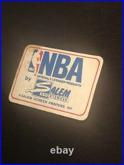 Vintage 1991 NBA Finals Bulls vs Lakers T-Shirt XL Sticker Michael Jordan