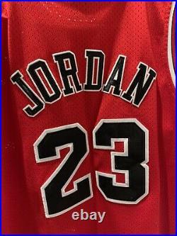 Vintage Michael Jordan Jersey Bulls Nike Size 52 NBA Finals Jersey 1998 Nike