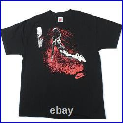 Vintage Michael Jordan Nike T-shirt 90s NBA Basketball Chicago Bulls Last Dance