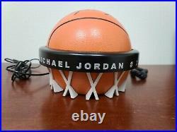 Vintage Michael Jordan Upper Deck Limited Edition Signed Phone Last Dance Jersey