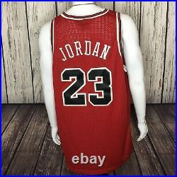 Vintage NIKE 8403 Chicago Bulls #23 MICHAEL JORDAN Jersey XXL 54 Last Dance