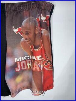 Vintage Starter Michael Jordan Chicago Bulls The Last Dance Shorts Size Large
