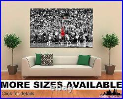 Wall Art Canvas Picture Print Michael Jordan Last Shot 3.2